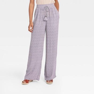 Women's Printed Wide Leg Pants - Knox Rose™