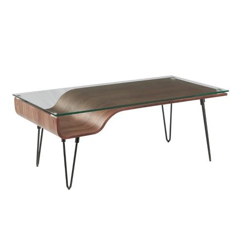 Avery Mid Century Modern Coffee Table