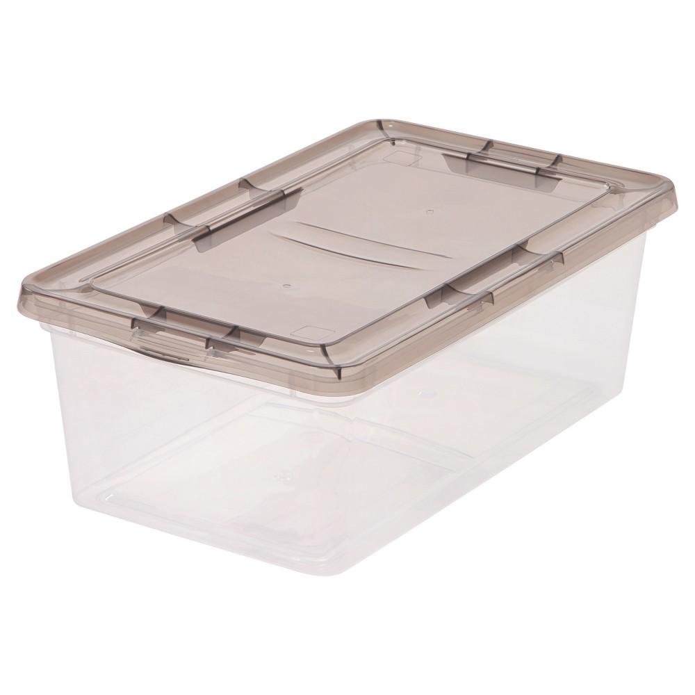 Utility storage tubs and Totes Plastic 24pc Gray - Iris