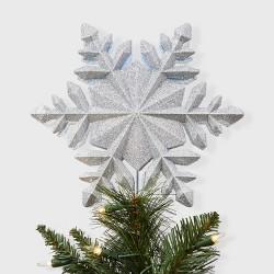 10'' Snowflake Projection Tree Topper White - Wondershop™