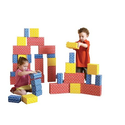 Edushape Ltd Cardboard Brick Block Large Building Set  - 44 pieces