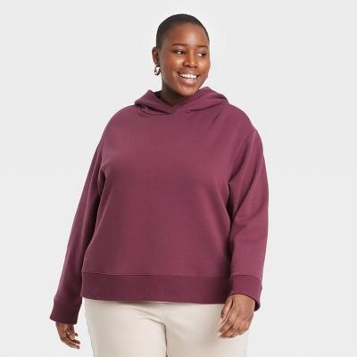 Women's Hooded All Day Fleece Sweatshirt - A New Day™