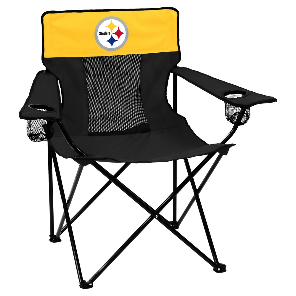 NFL Pittsburgh Steelers Elite Portable Quad Chair