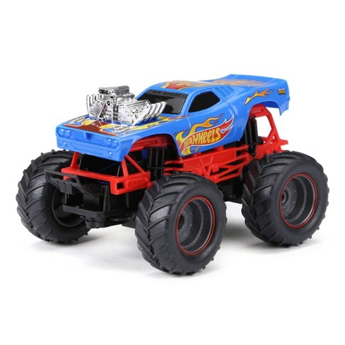 New Bright 1:24 RC Monster Truck Hot Wheels Rodger Dodger - image 1 of 4