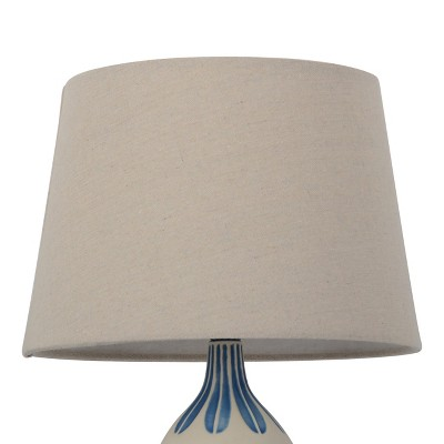 Small Natural Mod Drum Lampshade Linen - Threshold™