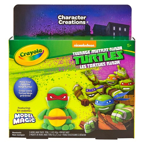 Crayola® Model Magic Kit - Teenage Mutant Ninja Turtles™ - image 1 of 3