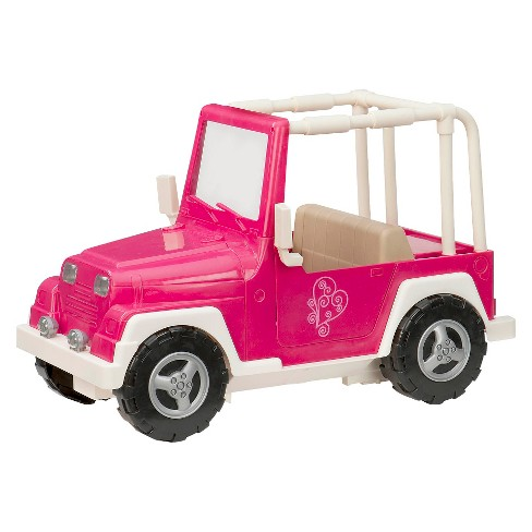 Our Generation My Way and Highways 4x4 Doll Vehicle - Pink and White - image 1 of 4