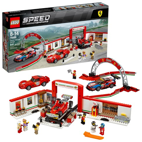 lego speed champions ferrari ultimate garage 75889 target. Black Bedroom Furniture Sets. Home Design Ideas