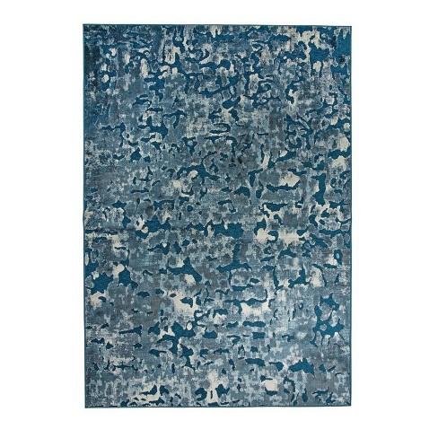 Abacasa Napa Axel Blue and Ivory 8x11 Area Rug - Sam's International - image 1 of 1