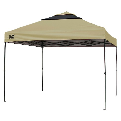 Quik Shade Straight Leg Instant Shelter - Tan/Graphite - image 1 of 1