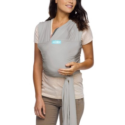 Moby Classic Wrap Baby Carrier - Stone Gray
