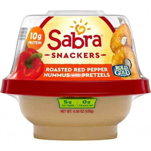 Sabra Roasted Red Pepper Hummus Snacker - 4.3oz - image 1 of 3