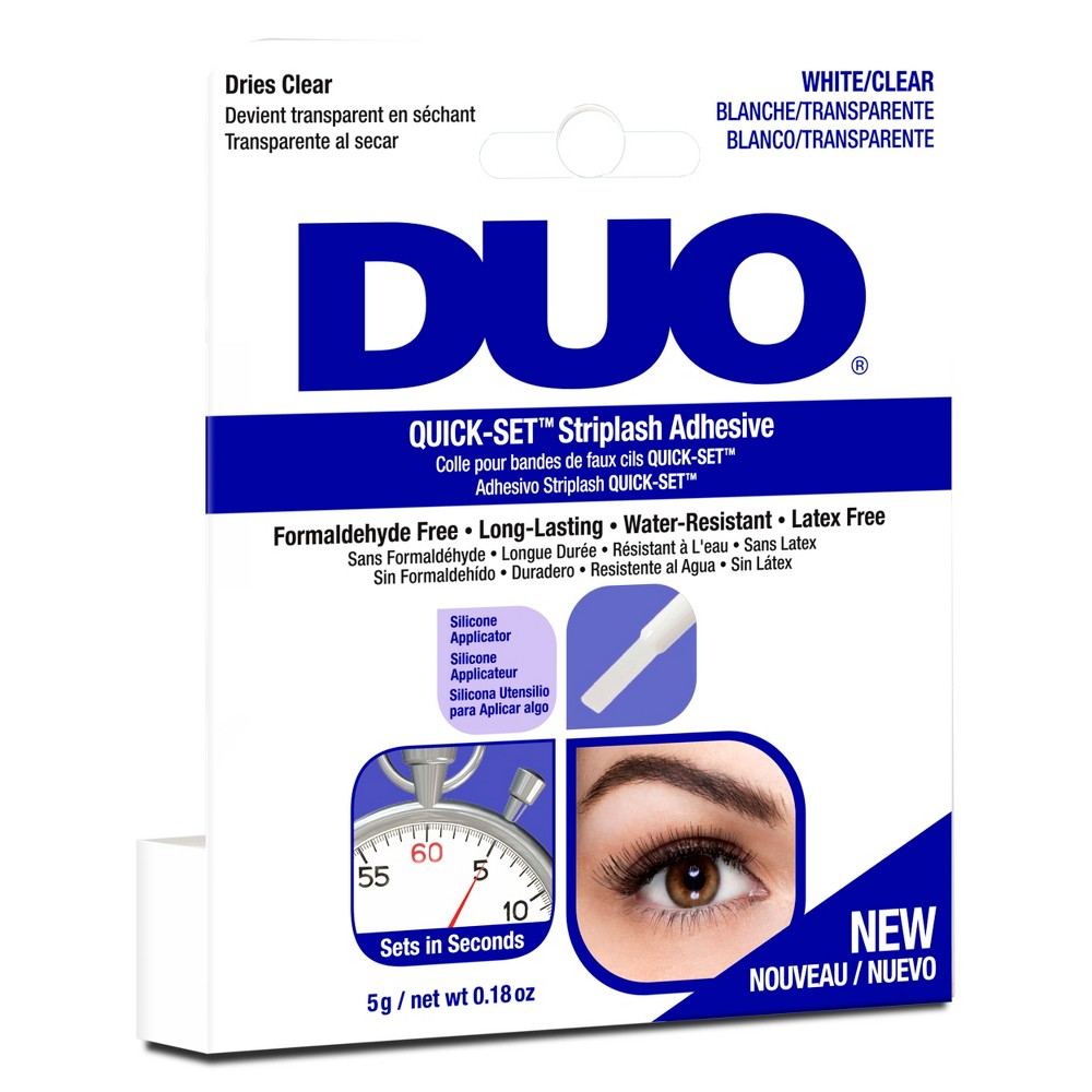 Image of Duo Adhesive Quick Set Lash Adhesive Clear - 0.18oz
