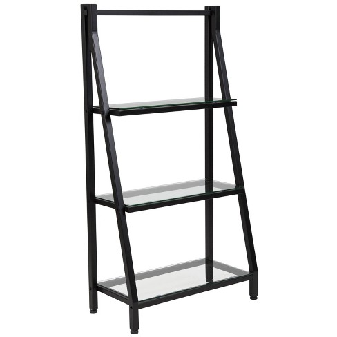 "45.5"" Bookshelf with Metal Frame - Riverstone Furniture - image 1 of 4"
