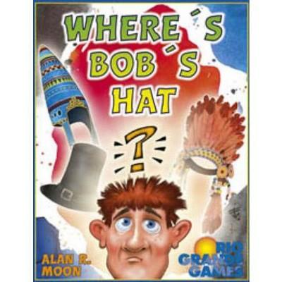 Where's Bob's Hat? Board Game