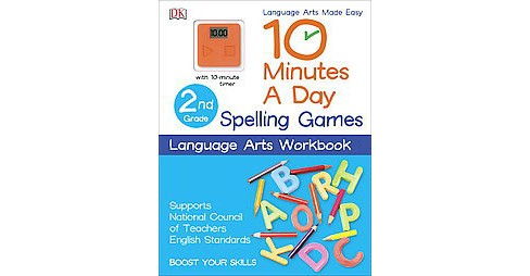 Spelling Games 2nd Grade (Workbook) (Paperback) (Linda Ruggieri) - image 1 of 1
