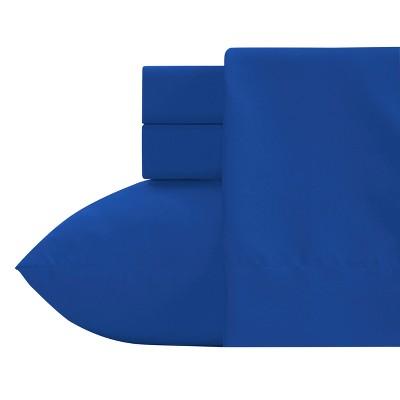 Crayola Blue Microfiber Sheet Set (Twin) 3pc