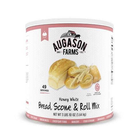 Augason Farms Honey White Bread Scone  & Roll Mix Emergency Food Storage - 58oz - image 1 of 8