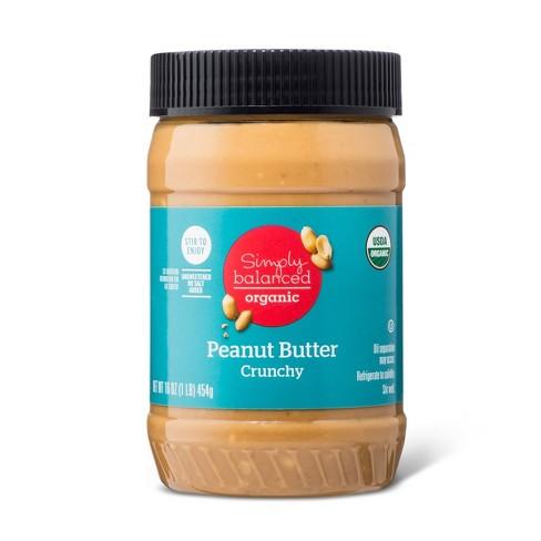 Organic Stir Crunchy Peanut Butter 16oz - Simply Balanced™ - image 1 of 1