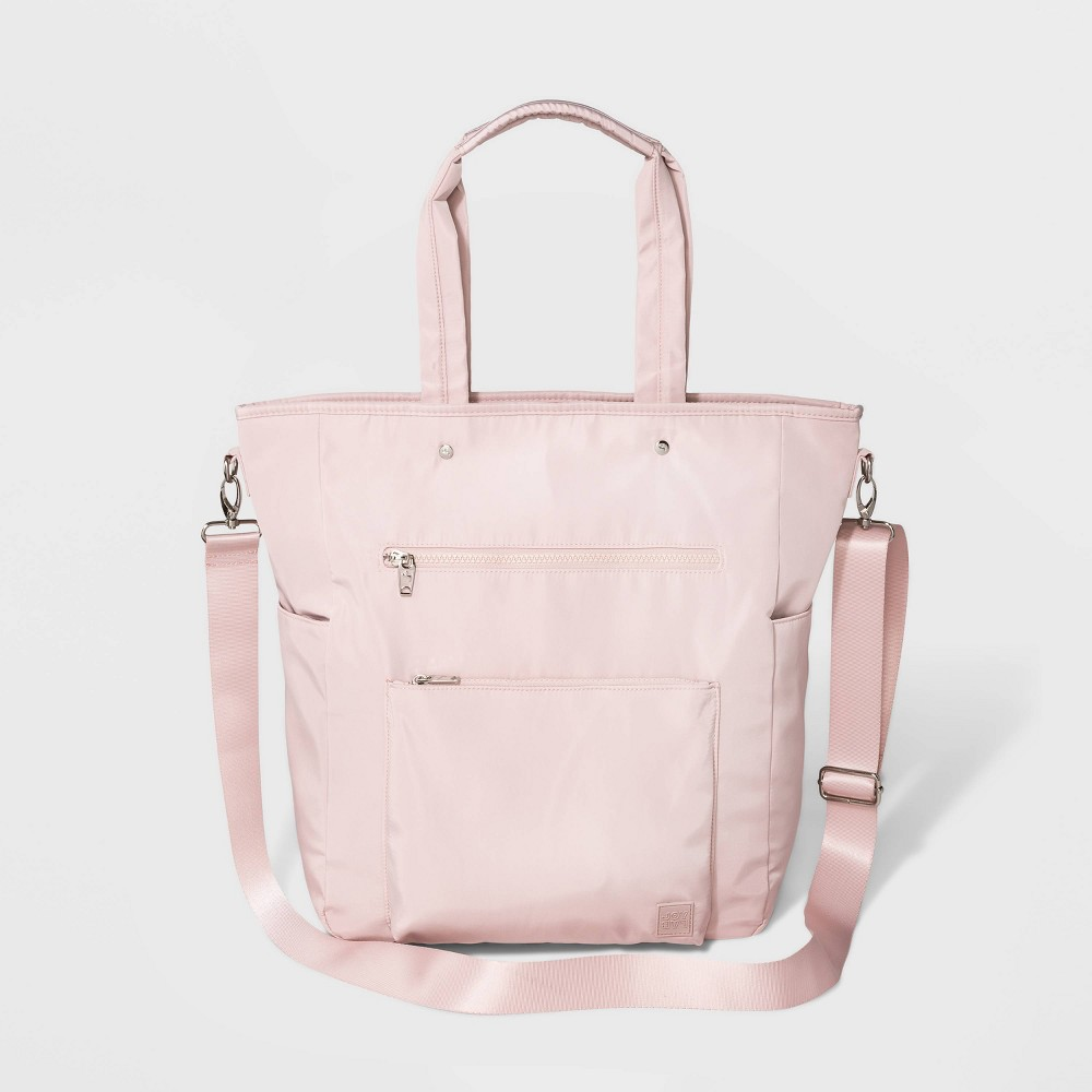 Image of Convertible Tote Handbag To Backpack - JoyLab Pink, Women's