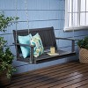 Tambora Acacia Wood Patio Porch Swing - Christopher Knight Home - image 2 of 4
