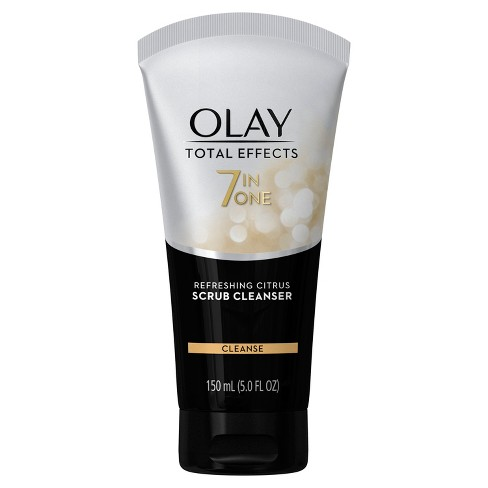 Olay Total Effects Refreshing Citrus Scrub Face Cleanser 5.0 oz - image 1 of 2