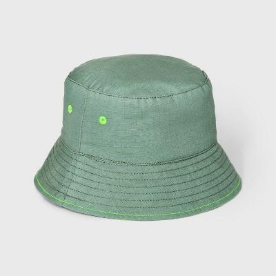 Toddler Boys' Reversible Bucket Hat - Cat & Jack™ Green