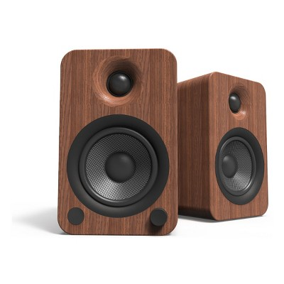 Kanto YU4 Powered Bookshelf Speakers with Built-In Bluetooth - Pair