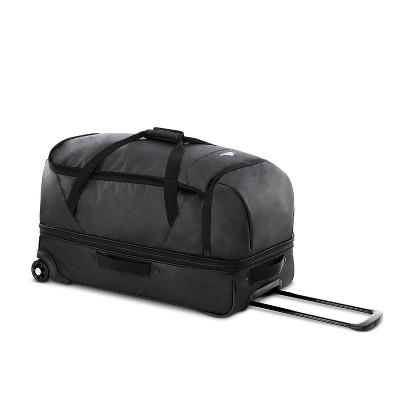 "High Sierra 28"" Wheeled Drop Bottom Duffel Bag - Black Graphic Carton"