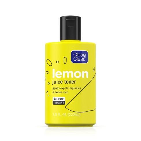 Clean & Clear Alcohol-Free Lemon Juice Facial Toner - 7.5 fl oz - image 1 of 4