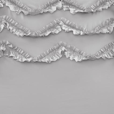 Flora Ruffle Shower Curtain Target