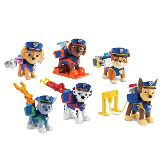PAW Patrol Police Pups Action Pack Gift Set 6pc