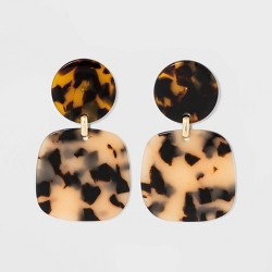 SUGARFIX by BaubleBar Marbled Drop Earrings