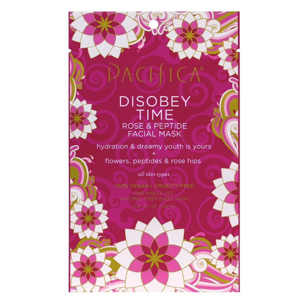 Pacifica Disobey Time Rose and Peptide Facial Mask 0.67 fl oz