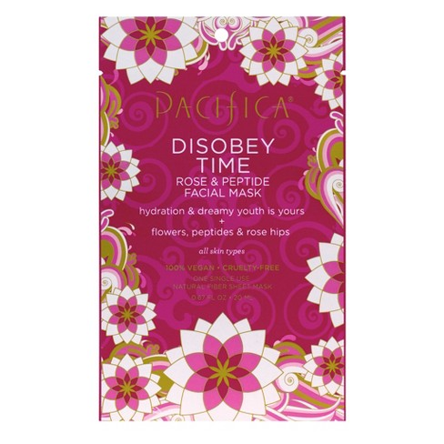 Pacifica Disobey Time Rose and Peptide Facial Mask 0.67 fl oz - image 1 of 2