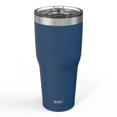 Zak! Designs 30oz Double Wall Stainless Steel Cascadia Tumbler - Blue