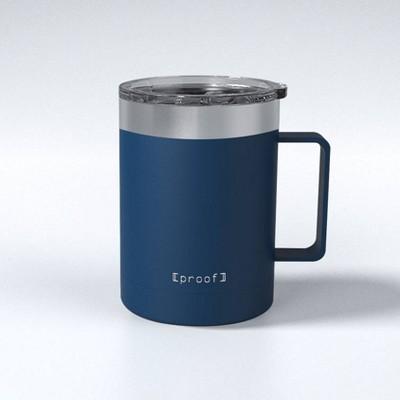 Proof 14oz Stainless Steel Travel Mug Dark Blue