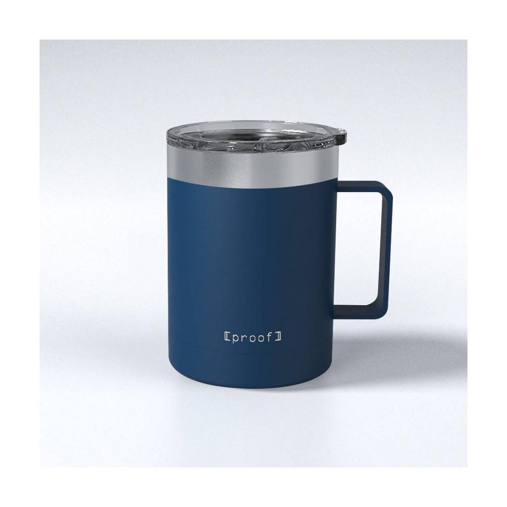Image of Proof 14oz Stainless Steel Travel Mug Dark Blue