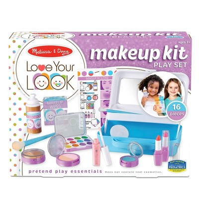 Melissa & Doug LOVE YOUR LOOK - Makeup Kit Play Set