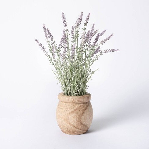 "15"" x 8"" Artificial Lavender Plant in Pot - Threshold™ designed with Studio McGee - image 1 of 4"