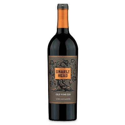 Gnarly Head Zinfandel Wine - 750ml Bottle