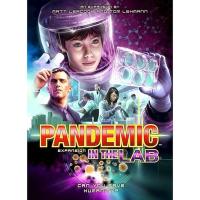 Pandemic In the Lab Cooperative Game Expansion Pack