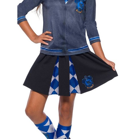 37962a78b5f3 The Wizarding World Of Harry Potter Girls' Ravenclaw Halloween Costume Skirt