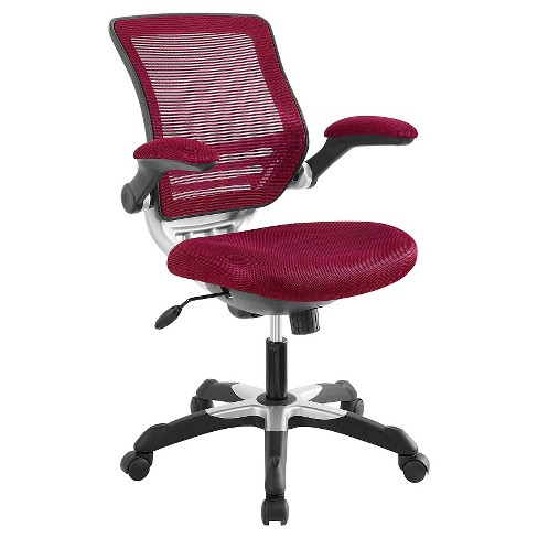 Office Chair Modway Maroon Red - image 1 of 5