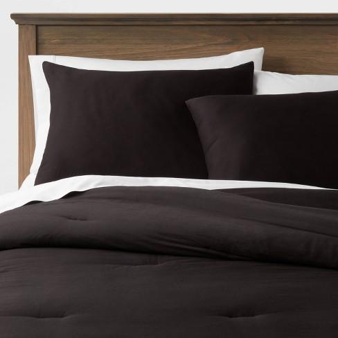 Washed Cotton Sateen Comforter & Sham Set - Threshold™ - image 1 of 4