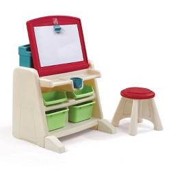 Step2® - Flip & Doodle Easel Desk with Stool™