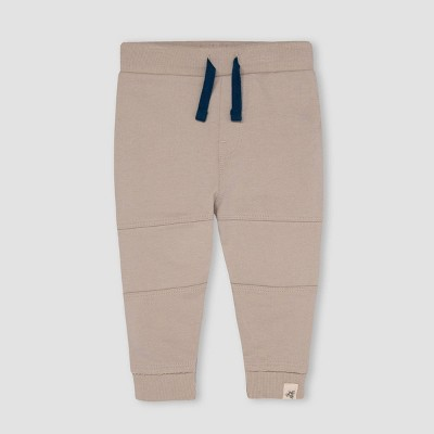 Burt's Bees Baby® Baby Boys' French Terry Jogger Pants - Light Taupe