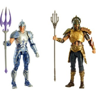 DC Comics Aquaman Gladiator Figure 2pk