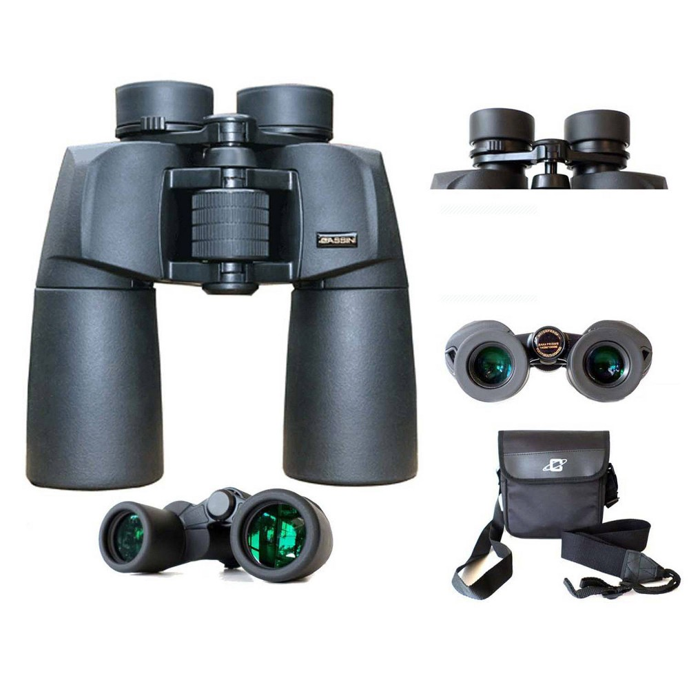 Image of Cassini 12 x 50mm Water and Fog Proof Porro Prism Binocular - Black