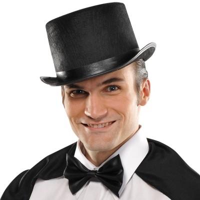 Adult Top Hat Black Halloween Costume Headwear